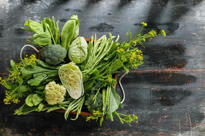 vegetales verdes para controlar la eyaculacion